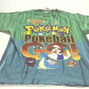 POKÉMON T-shirt size SMALL LITTLE BOYS BLUE🌈❤️🌈